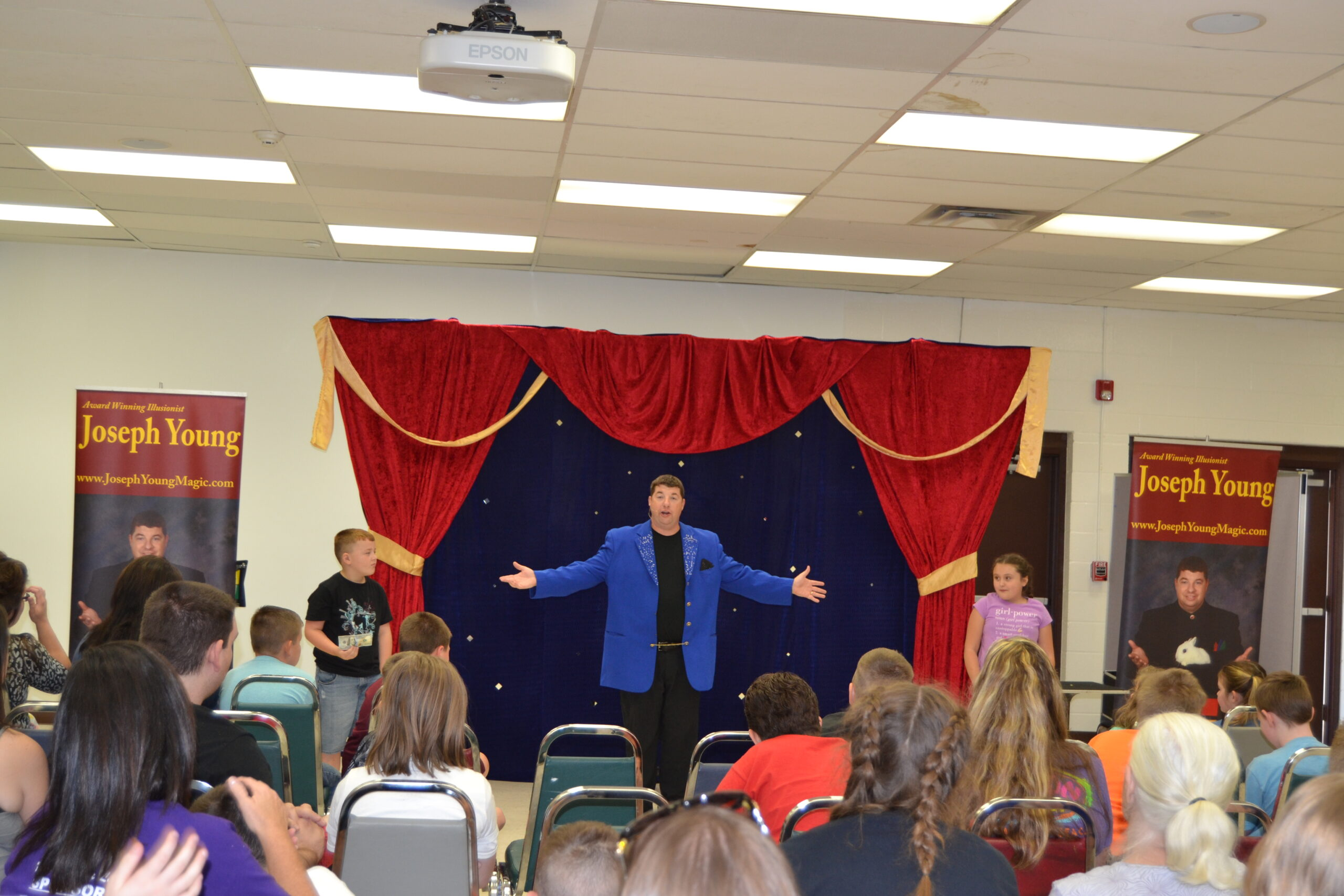 joseph young magic show for families